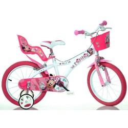 Rowerek dziecięcy 16 cali Dino Bikes Myszka Minnie- 616NN