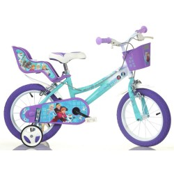 Rowerek dziecięcy 16 cali Dino Bikes Kraina Lodu - 166RFZ2