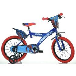 Rowerek dziecięcy 16 cali Dino Bikes Spiderman - 163GSPH