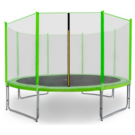 Trampolina ogrodowa aGa SPORT PRO 335 cm (10 ft) 2018 Light Green