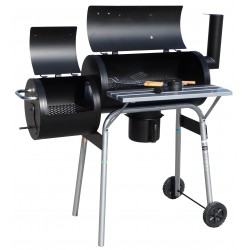 Profesjonalny grill z wędzarnią BBQ - DJ1059BL