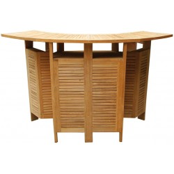 Bar ogrodowy z drewna tekowego - NT35