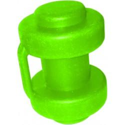 Uchwyt siatki nakładany na słupek aGa SPORT - light green inside