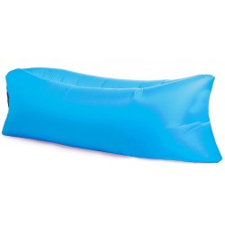 Sofa leżak materac kanapa na powietrze LAZY BAG - Light Blue