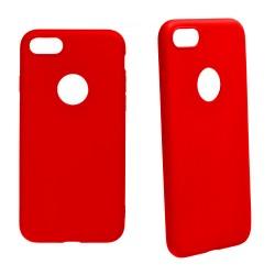 Euti ULTRA SLIM iPhone 7 MIĘKKIE DOPASOWANE - Red
