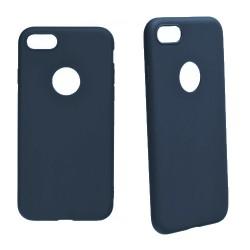 Euti ULTRA SLIM iPhone 8 MIĘKKIE DOPASOWANE - Navy
