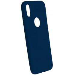 Euti ULTRA SLIM iPhone X MIĘKKIE DOPASOWANE - Navy