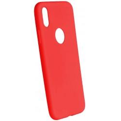 Euti ULTRA SLIM iPhone X MIĘKKIE DOPASOWANE - Red