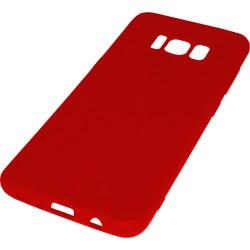 Euti ULTRA SLIM Samsung S8 MIĘKKIE DOPASOWANE - Red