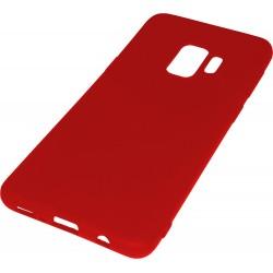 Euti ULTRA SLIM Samsung S9 MIĘKKIE DOPASOWANE - Red