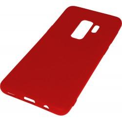 Euti ULTRA SLIM Samsung S9+ MIĘKKIE DOPASOWANE - Red