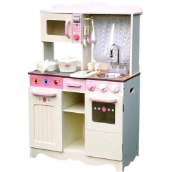 Kuchnia drewniana dla dzieci RETRO COOKER LONG  (W10C058A)
