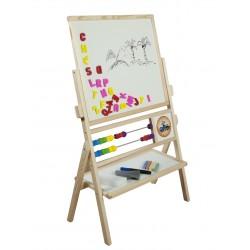 Tablica drewniana obrotowa z liczydłem - MAX TN