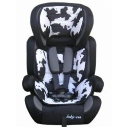 Fotelik samochodowy Baby Coo BRAVO 9-36 kg Black White