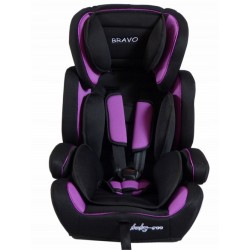 Fotelik samochodowy Baby Coo BRAVO 9-36 kg Black Violet