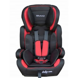 Fotelik samochodowy Baby Coo BRAVO 9-36 kg Red