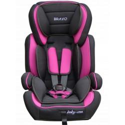 Fotelik samochodowy Baby Coo BRAVO 9-36 kg Black Pink