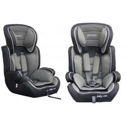 Fotelik samochodowy Baby Coo BRAVO 9-36 kg Black Grey