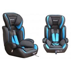Fotelik samochodowy Baby Coo BRAVO 9-36 kg Black Blue