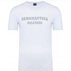 ZESTAW 3 Koszulki T-SHIRT ROUND-NECK PRINT 3pack Aeronautica Militare - white (X1402)