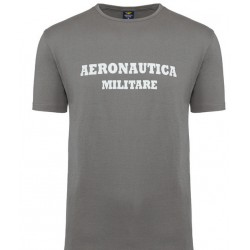 ZESTAW 3 Koszulki T-SHIRT ROUND-NECK PRINT 3pack Aeronautica Militare - grey ( X1401)
