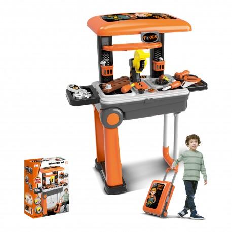 Walizka z narzędziami dla dzieci 2w1 (HM853918)